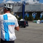 Rolling Rivalry Bike Ride at Lavell Edwards Stadium